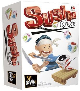 Sushi Dice + 1 set de cartes Goodies pas cher