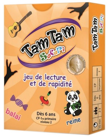 Tam Tam Safari - CP Niveau 2 pas cher