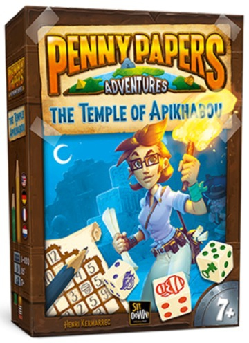 Temple of Apikhabou - Penny Papers Adventures pas cher