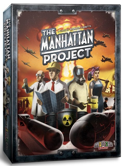 The Manhattan Project VO + Goodies Nations Expansion pas cher