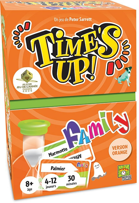 Time's Up Family - Orange pas cher