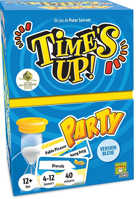 Time's Up Party - Bleu pas cher
