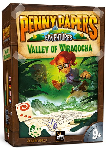 Valley of Wiraqocha - Penny Papers Adventures pas cher