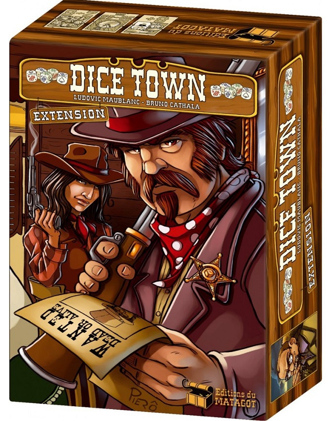 Wild West - Extension Dice Town pas cher