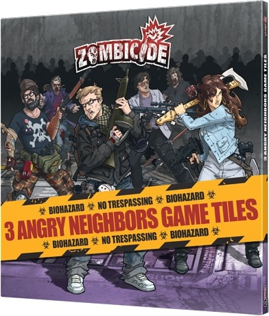 Zombicide : Angry Neighbors Game Tiles pas cher