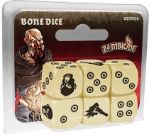 Zombicide - Black Plague : Bone Dice