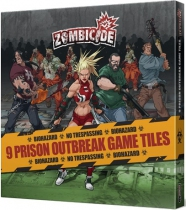 Zombicide : Prison Outbreak Game Tiles