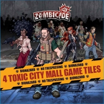 Zombicide : Toxic City Mall Game Tiles