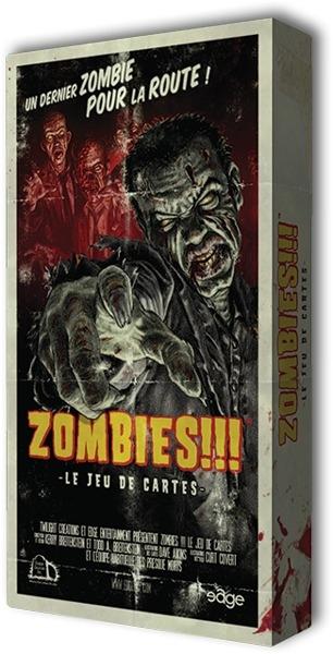 Zombies!!! Le Jeu de Cartes pas cher