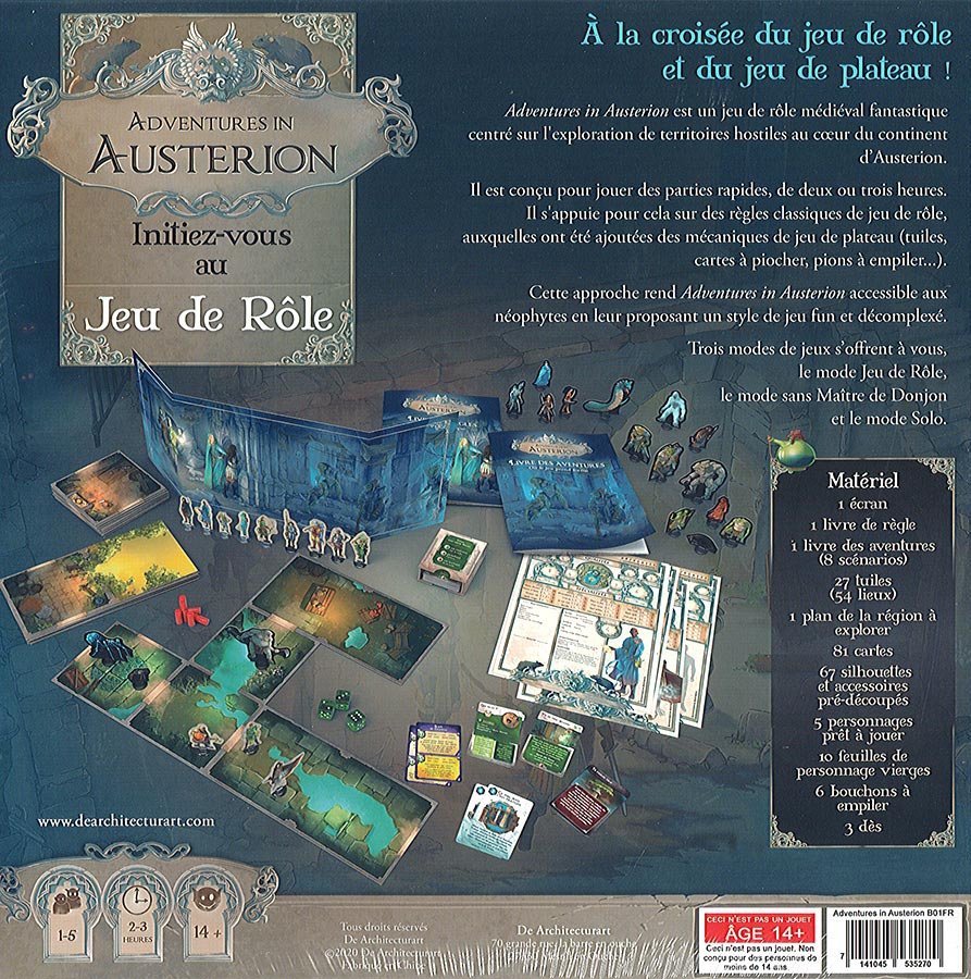 Adventures In Austerion - Les Tunnels du Royaume