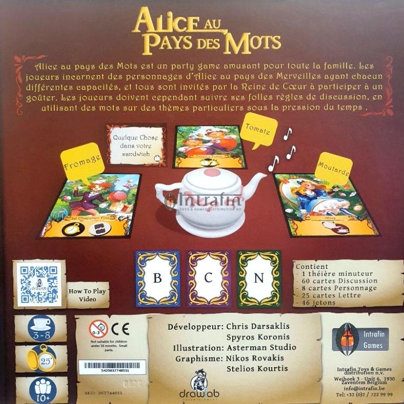 Alice au Pays de Mots
