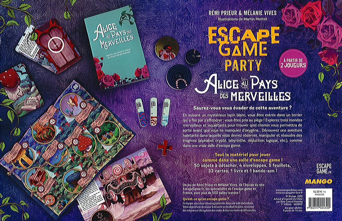Alice au Pays des Merveilles (Escape Game Party)
