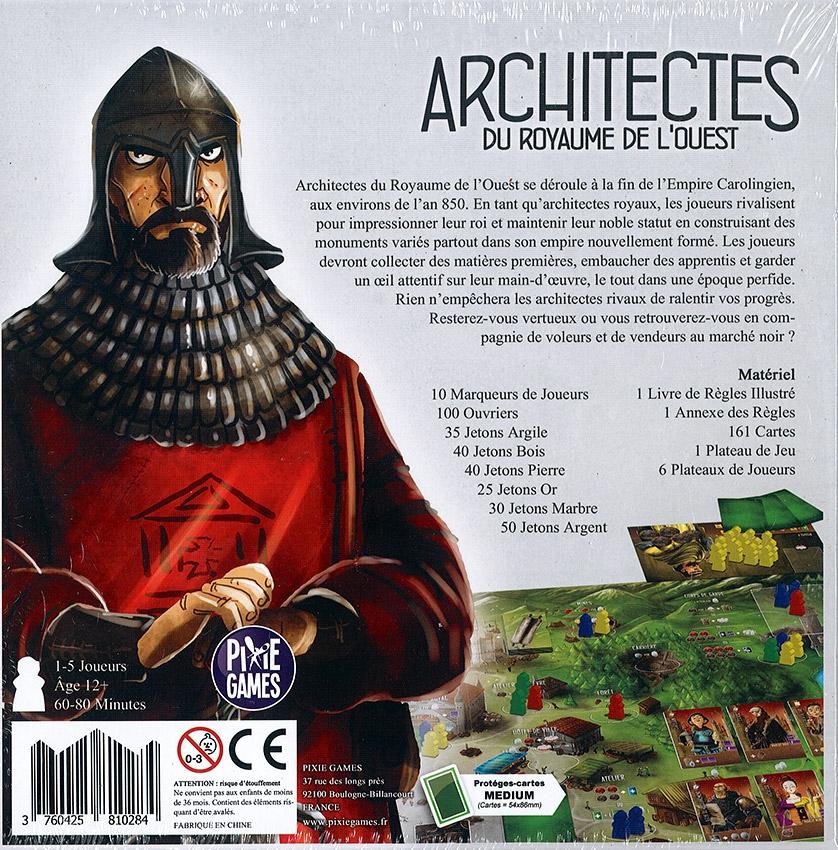 Architectes du Royaume de l\'Ouest