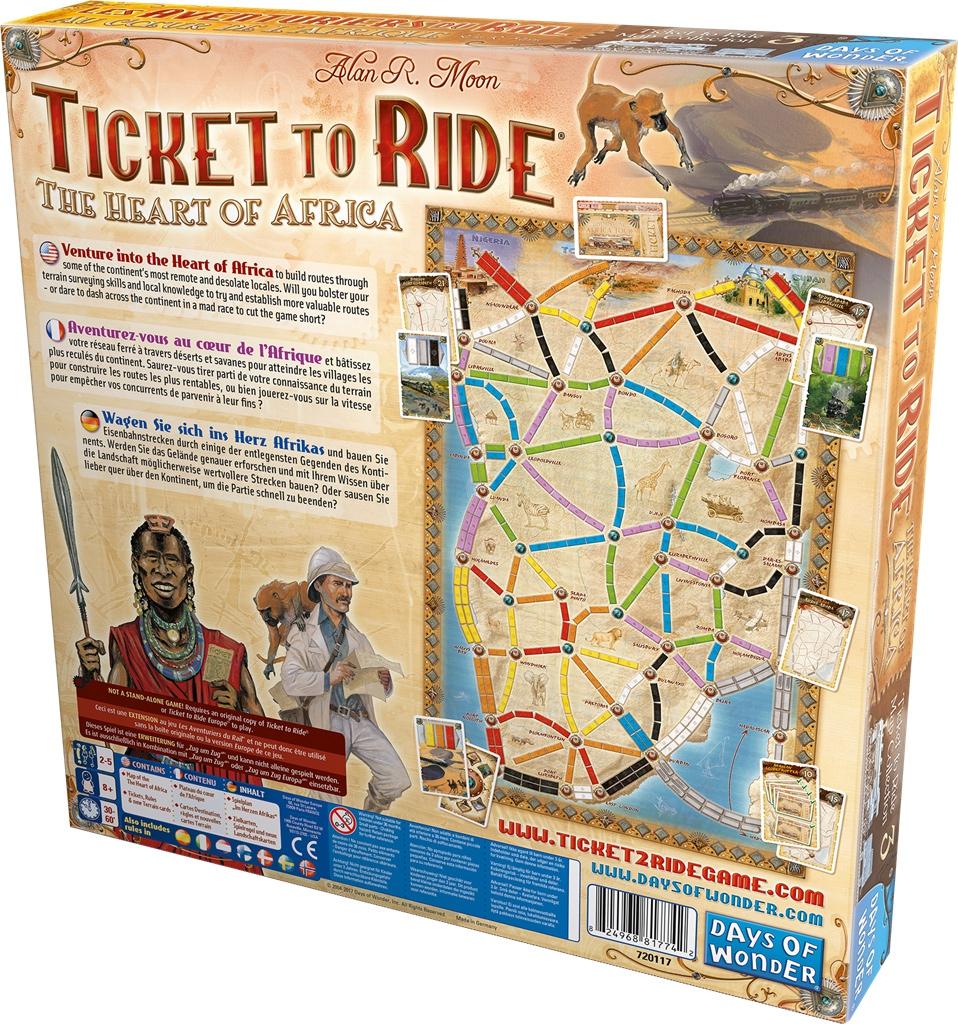 Au Coeur de l\'Afrique (Ext. Les Aventuriers du Rail)