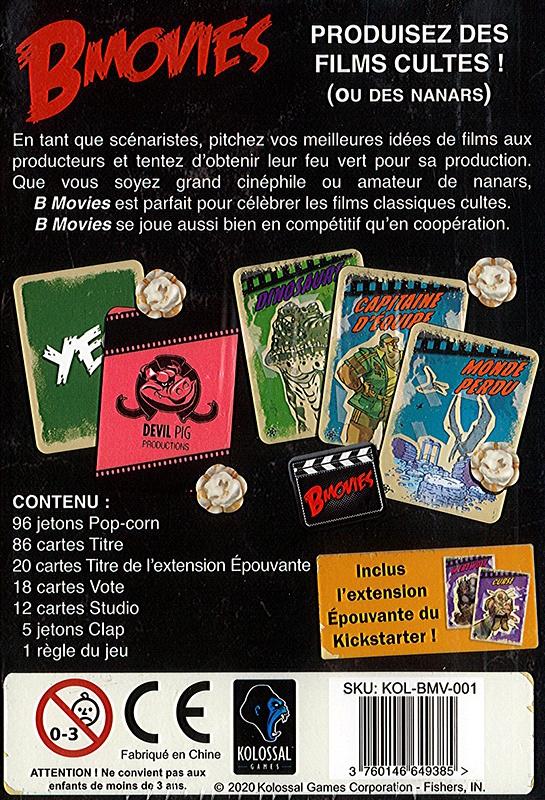 B-Movies - L\'Invasion des Tentacules du Monde Perdu