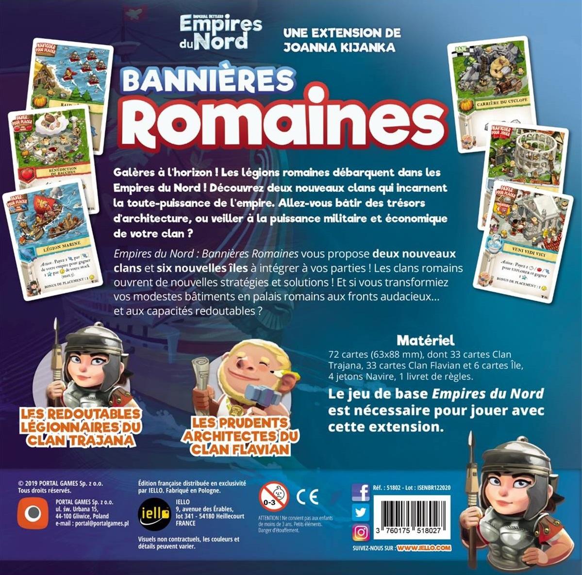 Bannières Romaines - Empires du Nord (Ext.)