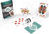 Belote - 32 cartes à dos vert - Grimaud Expert
