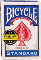 Bicycle - 54 cartes - Double Dos Rouge et Bleu