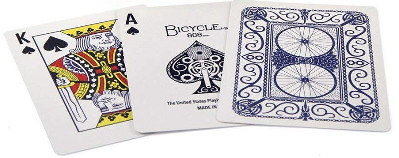 Bicycle Cycliste - 54 cartes - Dos Rouge ou Bleu