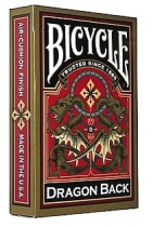 Bicycle Dragon Back Gold - 54 cartes