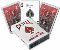 Bicycle Rider Back - 54 cartes - Crimson ou Cobalt Luxe