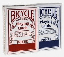 Bicycle Seconds - 54 cartes - Dos Rouge ou Bleu