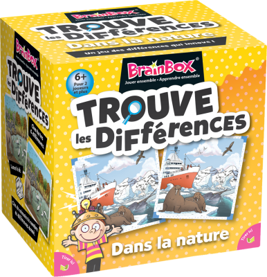 BrainBox : Trouve les Différences - Dans la Nature