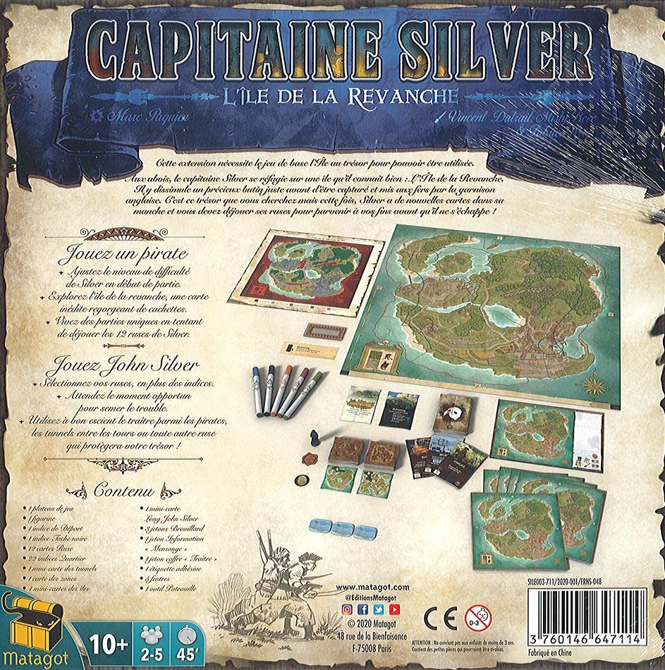 Capitaine Silver : L\'Île de la Revanche - Ext. L\'Île au Trésor
