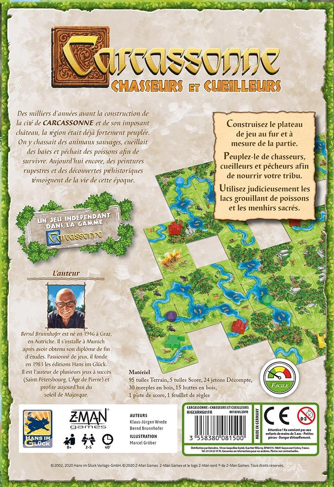 Carcassonne : Chasseurs et Cueilleurs