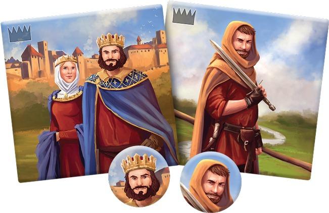 Carcassonne : Comte, Roi & Brigand