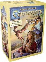 Carcassonne - Princesse et Dragon
