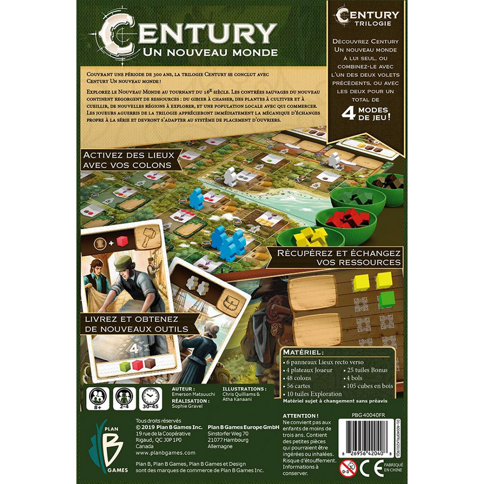 Century : Un Nouveau Monde