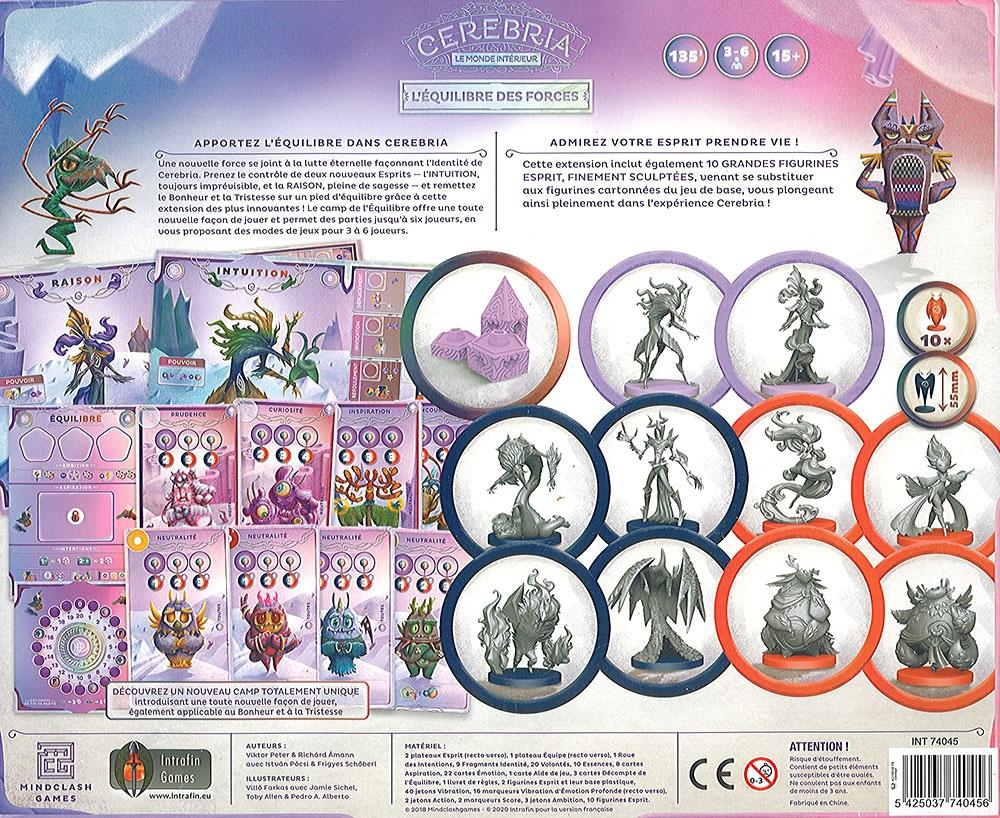 Cerebria - L\'équilibre des Forces (Ext.)