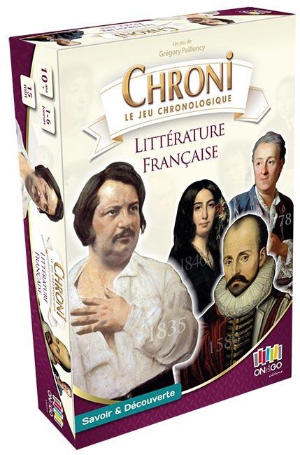 Chroni : La Littérature Française