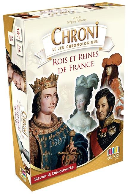 Chroni : Rois et Reines de France