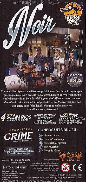 Chronicles of Crime : Noir