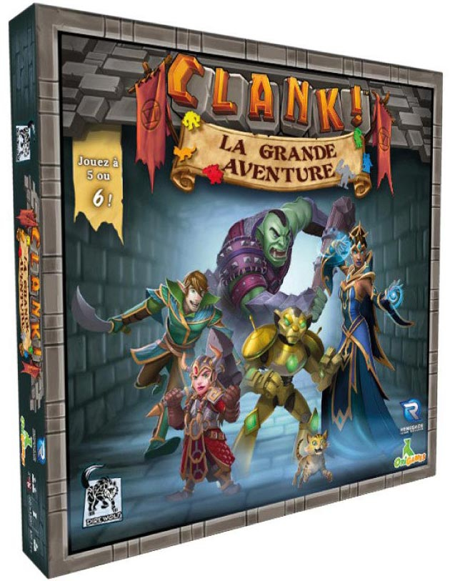 Clank! : La Grande Aventure (Ext) + carte Bonus