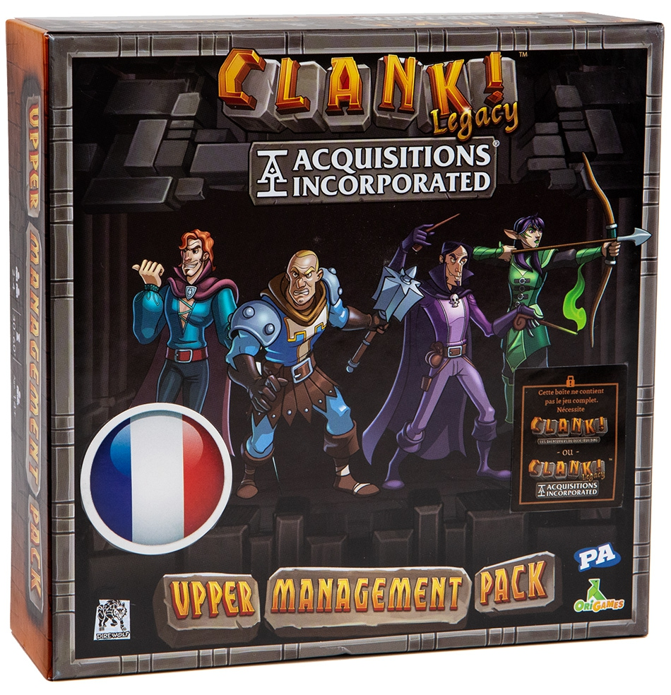 Clank! : Upper Management Pack