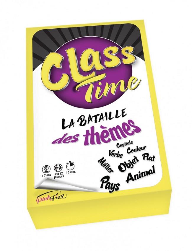 Class Time - Bataille des Thèmes (55 cartes)