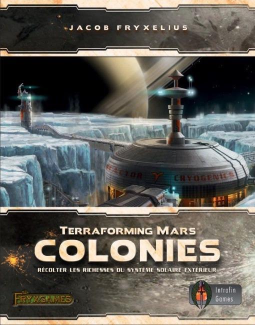 Colonies - Extension Terraforming Mars