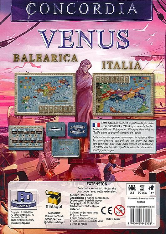 Concordia : Balearica & Italia
