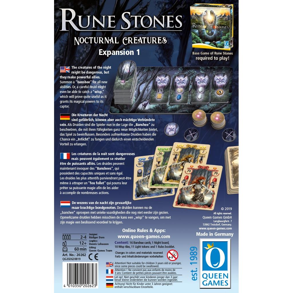 Créatures Nocturnes - Rune Stones (Ext.)