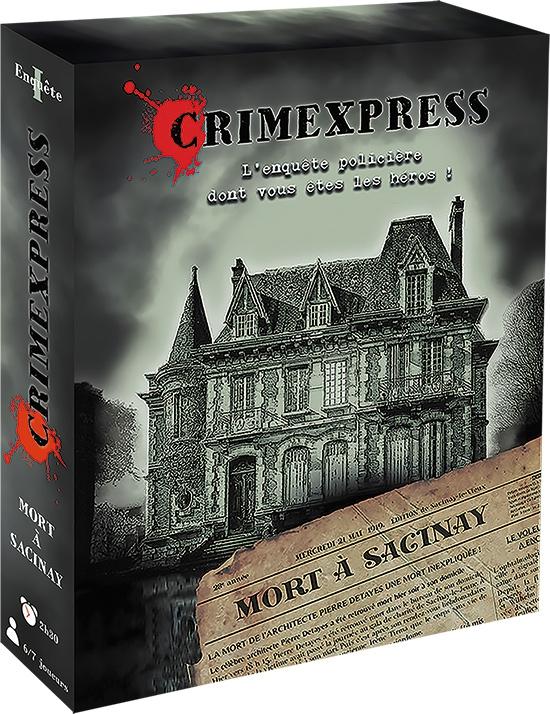 Crimexpress : Mort à Sacinay
