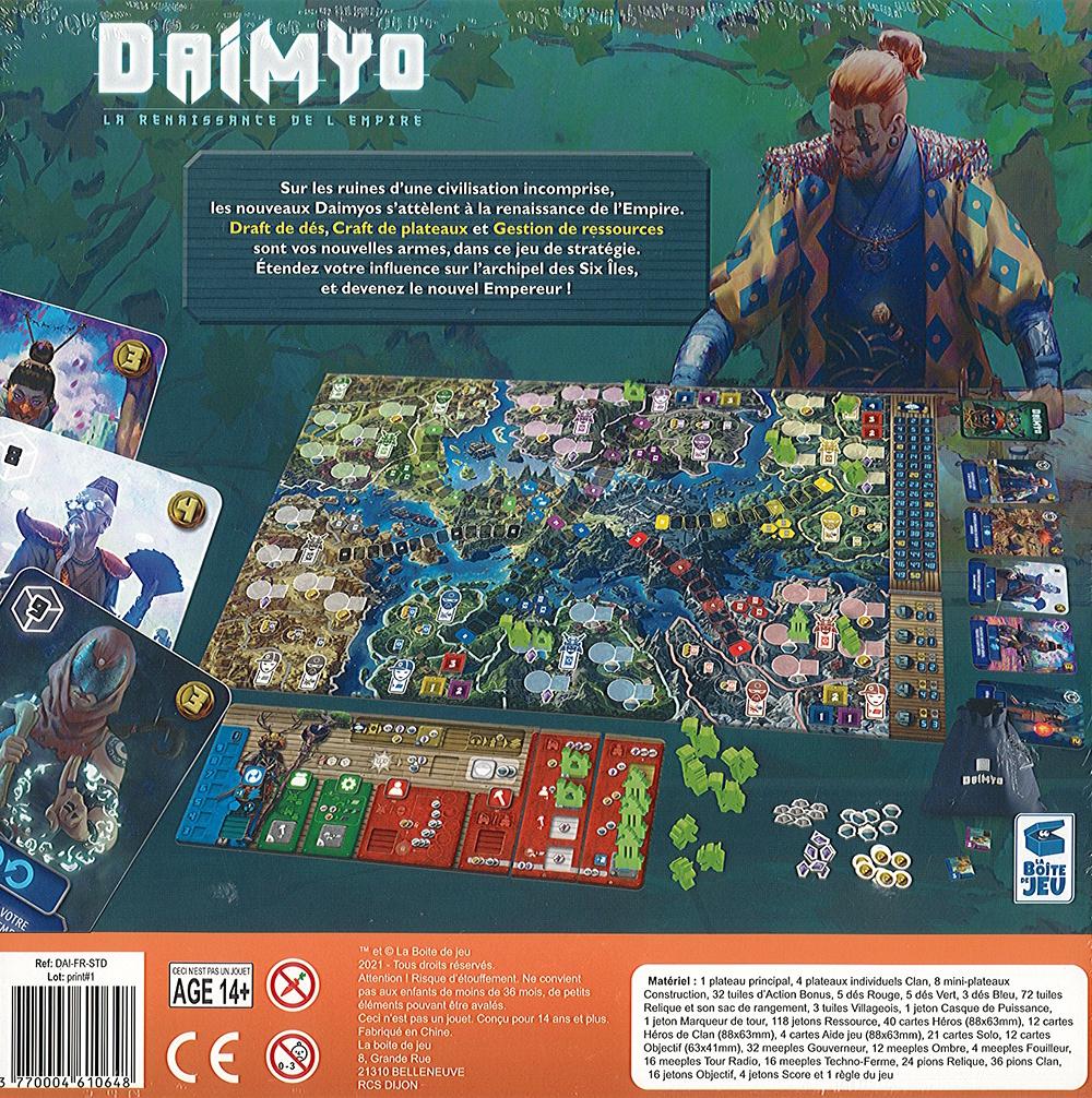 Daimyo - La Renaissance de l\'Empire