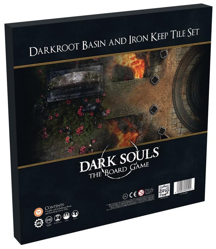 Boite de Darkroot Basin and Iron Keep Tile Set - Extension Dark Souls