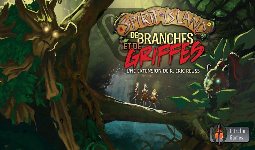 De Branches et de Griffes - Extension Spirit Island