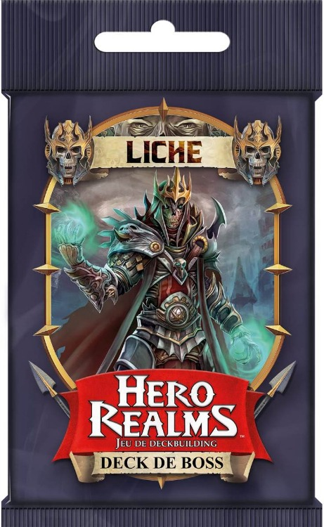Deck de Boss Liche - Hero Realms