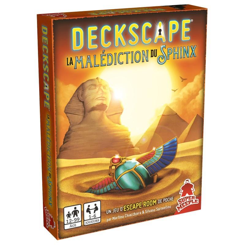 Deckscape : La Malédiction du Sphinx