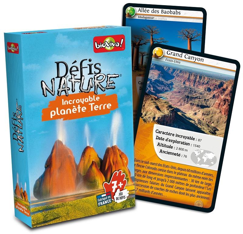 Défis Nature : Incroyable Planète Terre