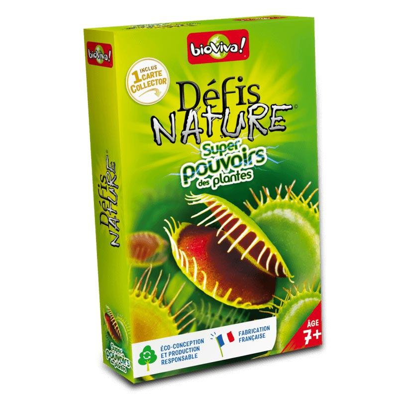 Défis Nature : Super Pouvoirs des Plantes
